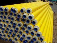 黄色高密度聚乙烯聚氨酯直埋管
